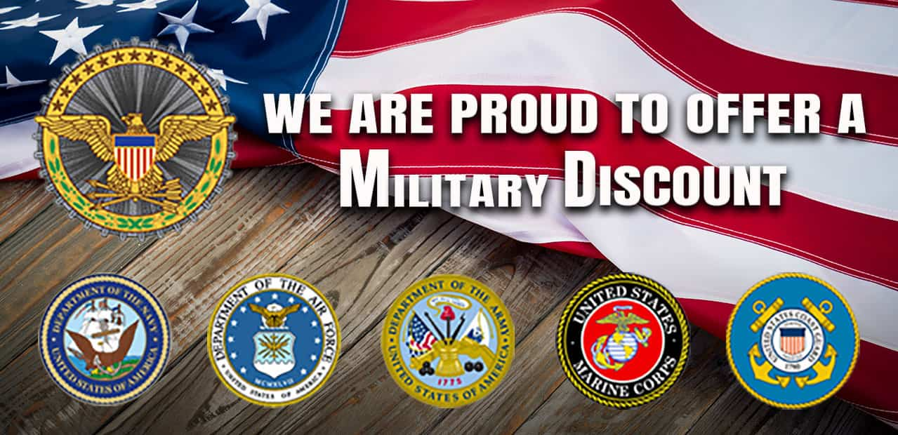 discount card- miltary discount